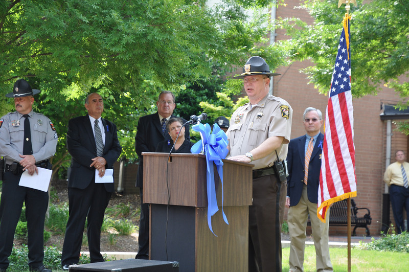 Recognition of Union County Fallen Officers-Deputy Chief Union County Sheriff's Office Ben Bailey