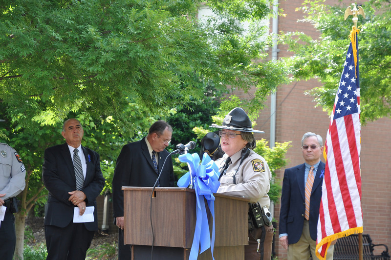 Margaret Derenge, Secretary-Treasurer-Union County Law Enforcement Memorial