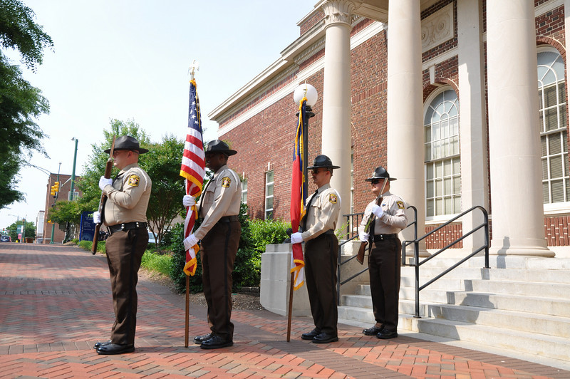 Union County Sheriff's Office Color Guard