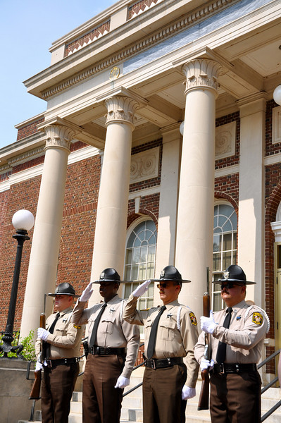 Union County Honor Guard Sherriff's Office: AJ Wallace Jr.,C.Bratton, D.Fitchet, T. Turner