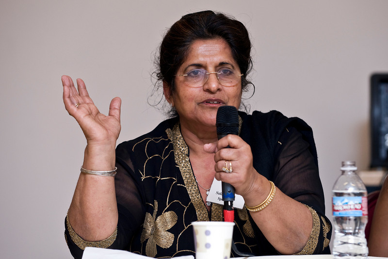 Sukhi Singh, founder of Sukhi's Gourmet Indian Food