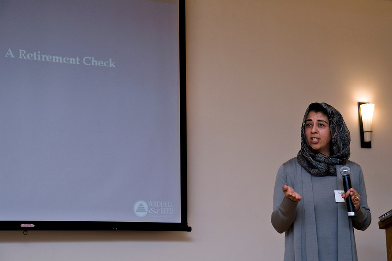 Saadia Ahmed, Financial Planner