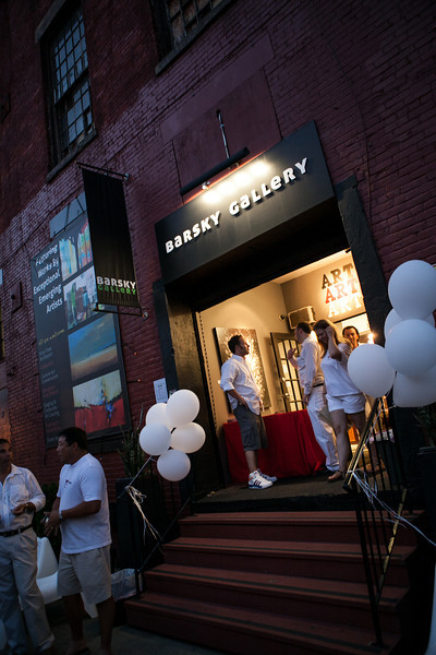 Yelp White Party @ Barsky Gallery
