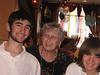 Naomi Rothschild's 86th birthday<br /> Aladdin Restaurant, Hackensack, NJ<br /> Adrian, Naomi and Dylan Rothschild
