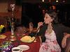 Naomi Rothschild's 86th birthday<br /> Aladdin Restaurant, Hackensack, NJ<br /> Gwen Ayers