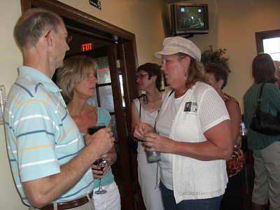 35th reunion at Triple R in Kimball, Aug. 21, 2010 Joe Arnold, Terry Arnold, Deb Kunkel, Kathy Hokkala, Linda (Heid) Plamann, Kate (Krippner) Adams