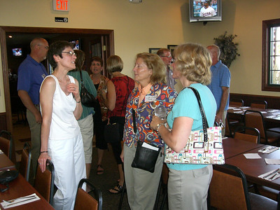 35th reunion at Triple R in Kimball, Aug. 21, 2010 Deb Kunkel, Lisa (Lochen) Linde, Donna Rothstein