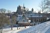 009  Leiden - De Burcht in de sneeuw