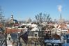 016  Leiden - De Burcht in de sneeuw