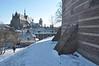008  Leiden - De Burcht in de sneeuw