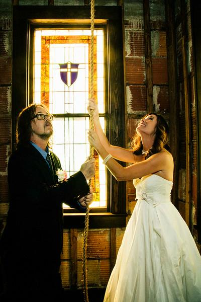 leslie & rob wedding