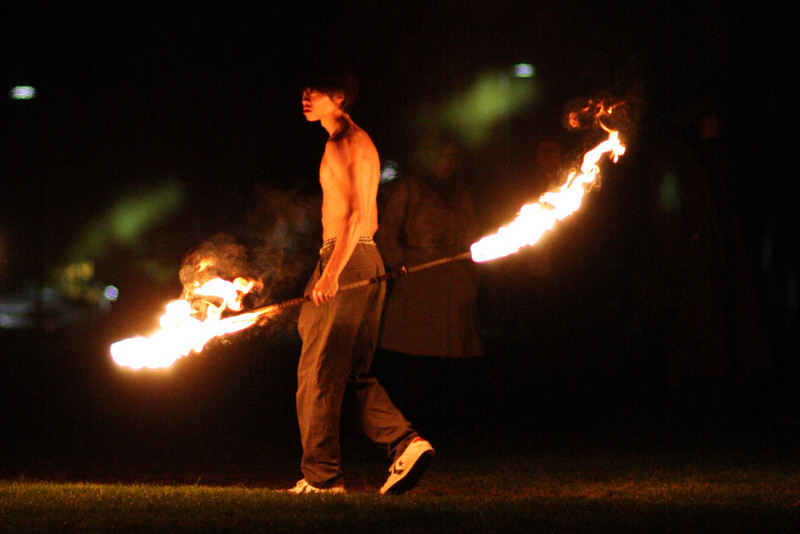 Wesleyan Firethrowing 101808 - 001