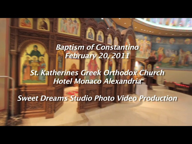 Highlight video of baptism Constantiino