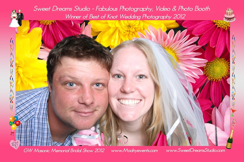 Photo Booth 2012 Bridal Show NJ NY