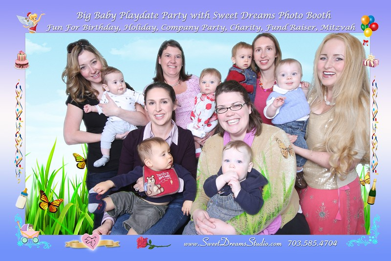Photo Booth for Baby Mother Play Party NJ NY