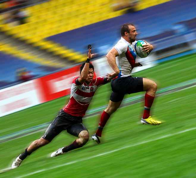 Rugby 7's World Cup in Moscow - Games -  June 2013