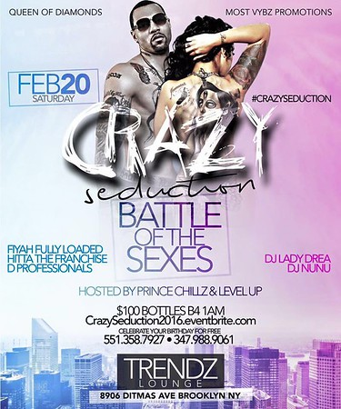 02/20/16 Crazy Seduction