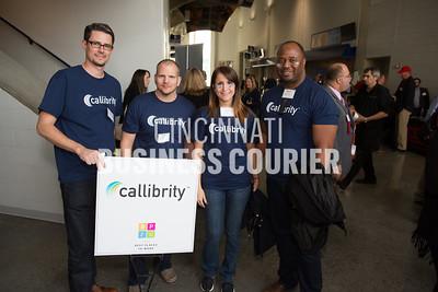 Gary Howard, Mark Wehby, Jalena Maric and Bukola Stewart w/ Callibrity Solutions LLC