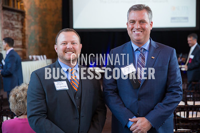 Keith Wright and Dave Gooch with Park National Bank
