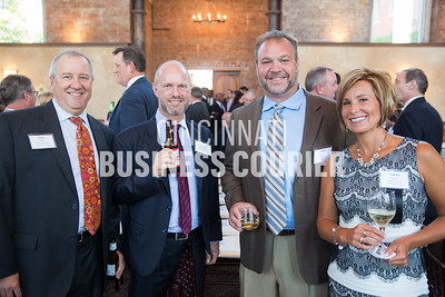 Pete Effler, Andreas Kleiner, Joel Nelson and Tammy Nelson with American Modern Insurance Group