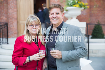 Donna Szarwark and Tom Custer with FRCH Design Worldwide