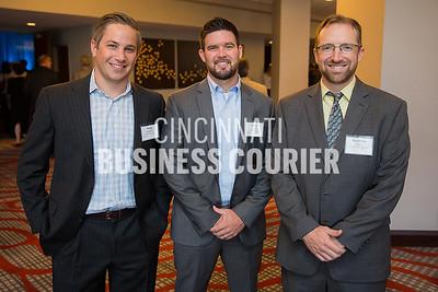 Greg Goddard, Lance Vaught with Penn Station Inc. and Brendan Walsh with Clark Schaefer Hackett