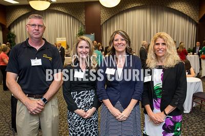 Colerain Township - Allen Walls, Lindsey Helmers, Emily Randolph with  Jenny Waitman of Hylant