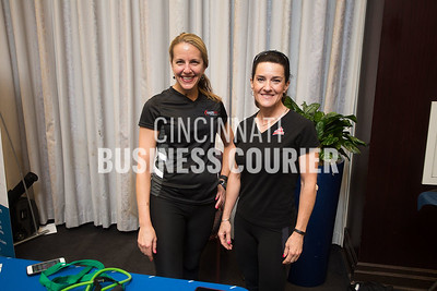 Lisa Coors with Coors Core Fitness  and Jeanne Houck Trifilio with JHT Fitness