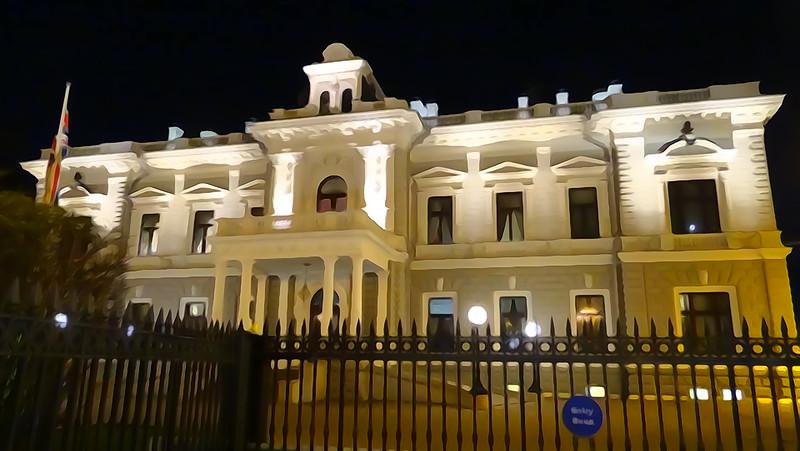 British Ambassador's Residence, November 2017