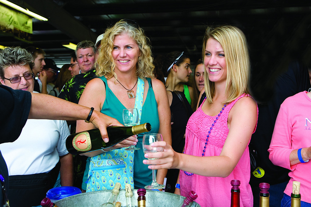 North America, USA, New York State, Schuyler County, Watkins Glen, Finger Lakes Wine Fest