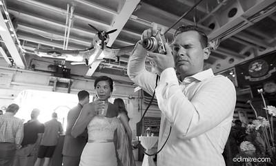 170923 Kevin & Laura Wedding Reception USS LST 393 560 Mart St, Muskegon, MI