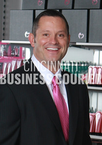 romance 020211 - Chris Cicchinelli is president of Pure Romance. His mother Patty Brisbane is founder and CEO. The company is planning international expansion. Photograph by Bruce Crippen