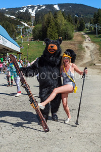 Gaper Day at Merlins and the base of Blackcomb Mountain