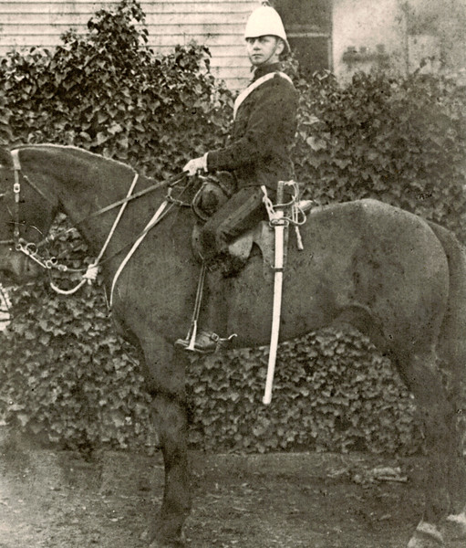 1912_Oliver Maurice Tibbitts 114th Melbourne Cavalry