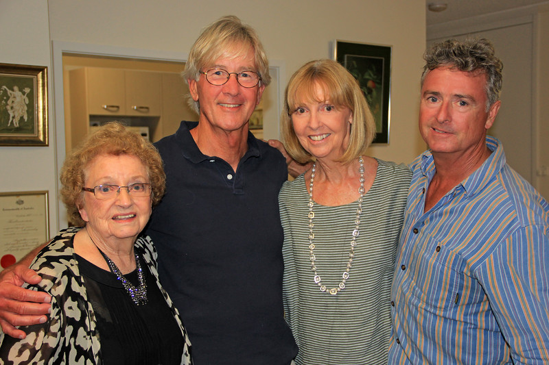2017-02-18_9669_Joan_Tony_Angela_Michael Edmonds.JPG<br /> <br /> Tony with his Aunt Joan Edmonds and cousins, Angela and Michael
