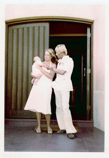 1978-01_Luke Boon_Louise_Tony Edmonds_Godparents at Baptism