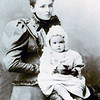 1899_Margaret Ann Moore_Marjorie Hegerty - Grandmother Edmonds with her mother