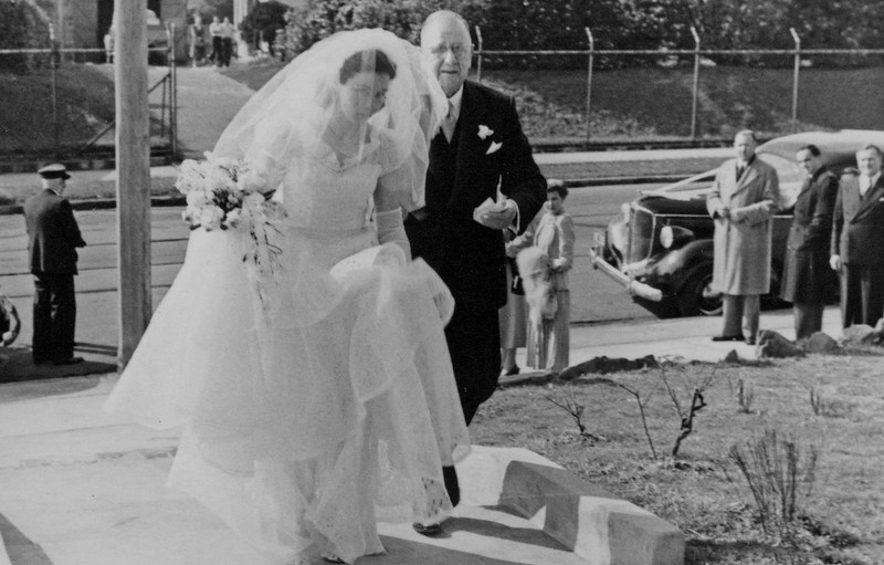 1950-08-12_Josie_Oliver Tibbitts.jpeg<br /> <br /> Giving away the bride!