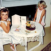 1991-03-19 Rebel Egan_Lyndall Edmonds_3.psd<br /> <br /> Cousins celebrating their similar birthdays together