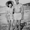 1950-08_Josie_Peter Edmonds_Fingal Beach.jpeg<br /> <br /> On their honeymoon in Northern NSW