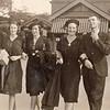 1939-04 Jean_Joyce_Joan_Ron Pitcher.jpg<br /> Joan & Ron Pitcher's wedding day