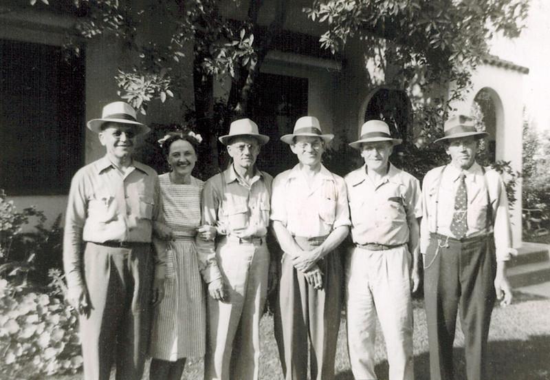 1937 Walter_Lydia_Ernie_Alfred_Heinie_Bill Wichner.jpg<br /> <br /> Six of the eight Wichner siblings (Elmer and Herman missing)