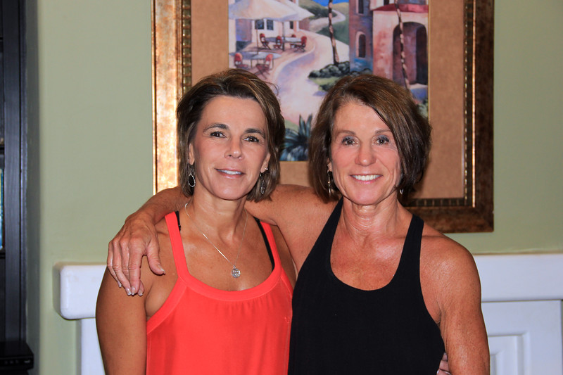 2018-09-04_Debbie Cameron_Donna Carlson_1.JPG<br /> <br /> Niece and aunt looking more and more alike these days