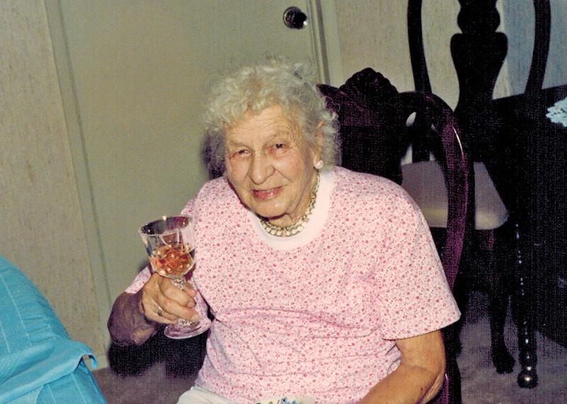 1989-06-28_Kate Meyer.jpg<br /> <br /> Great Aunt Kate