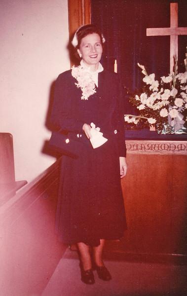 1952-10-11 Joan wedding to Don