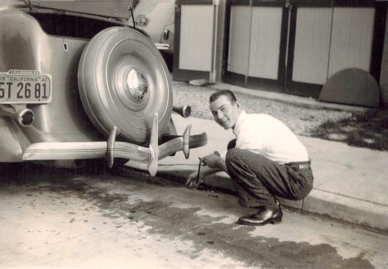 1941_Don Wichner_21 yrs.JPG<br /> <br /> My dad, Don Wichner, loved his cars!
