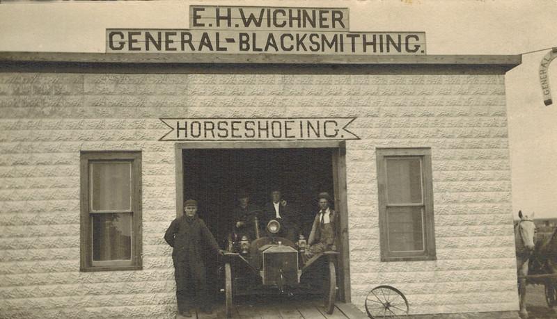 1908 Emil Henry Wichner's Blacksmith Shop_3.jpg