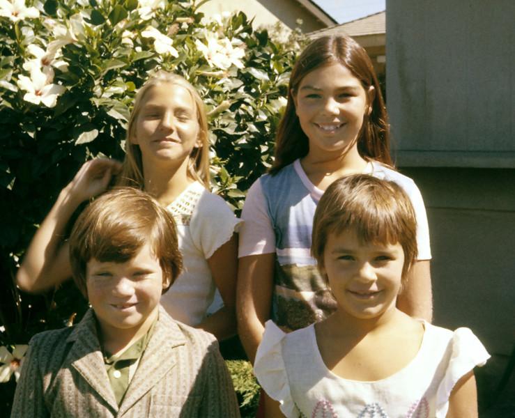 1977-02 Rose_Erik Leder_Debbie_Pam Pitcher.jpg<br /> <br /> More cousin fun!