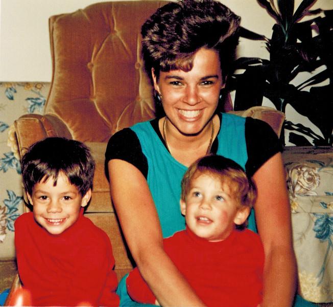 1989-03-26_Ron_Debbie_Scott Pitcher.jpg<br /> <br /> Aunt Debbie with Ron and Scott Pitcher