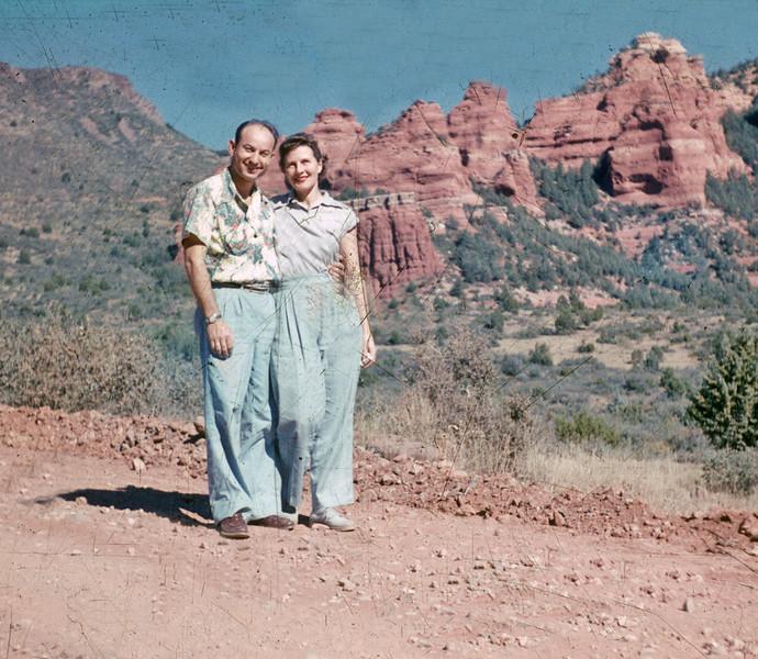1952-10 Don_Joan Wichner_honeymoon
